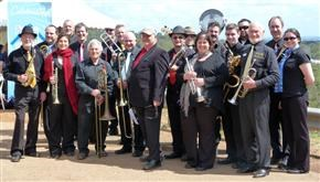 Hills Big Band at a recent performance