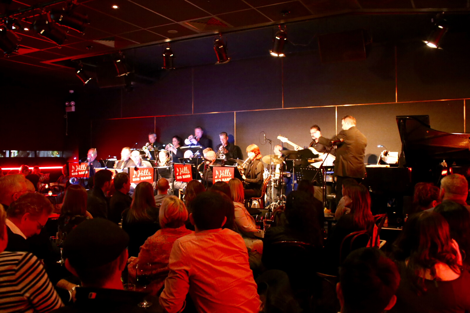 Photos From The Ellington Jazz Club Hills Big Band